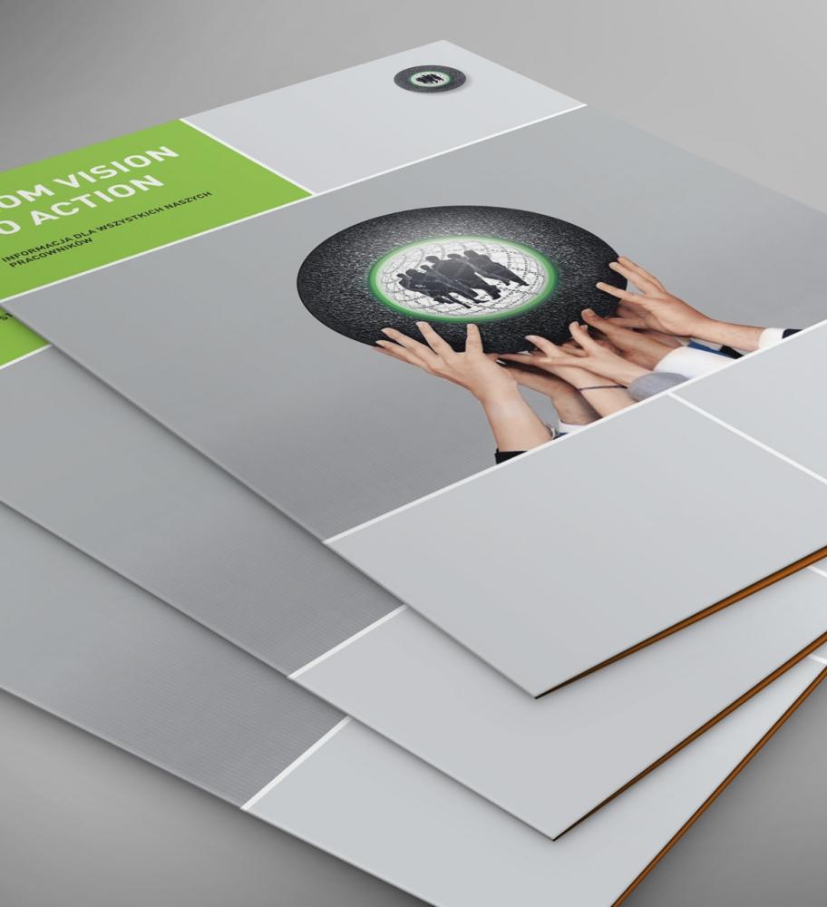 Folder firmowy A4