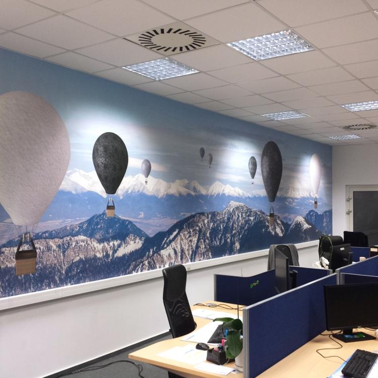 Fototapeta open office