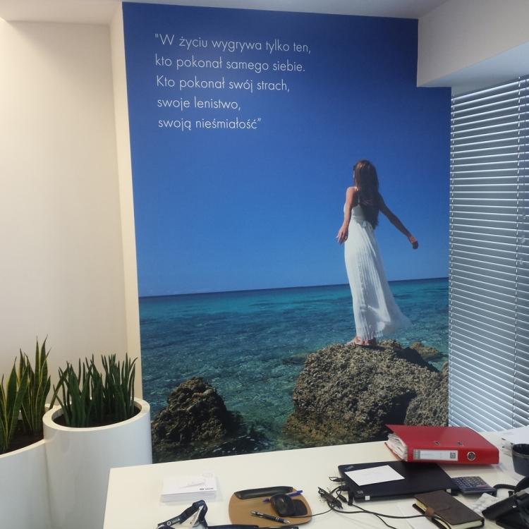 Fototapety motywacyjne dla firm