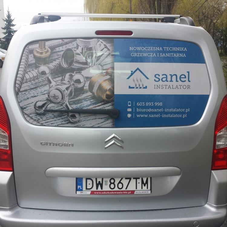 Grafika na auta Wrocław