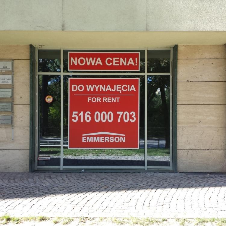 Naklejki na witryny Wrocław