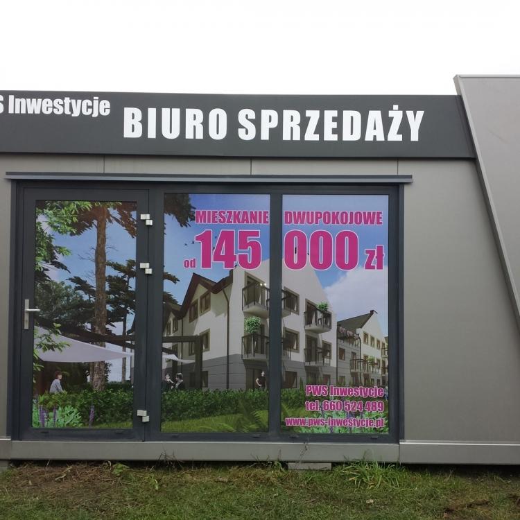 Reklama na witrynie Wrocław
