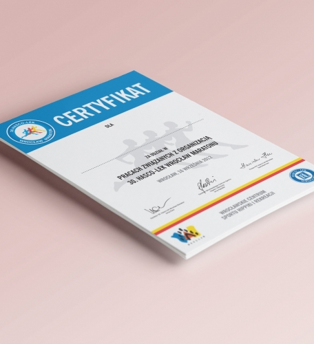 Certyfikat A4